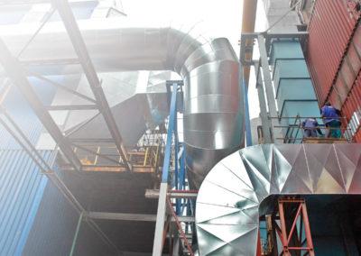 Ökologisierung des Dampfkessels TEKO