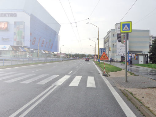 Repairs and Reconstruction of Engineering and Transportation Buildings in Košice
