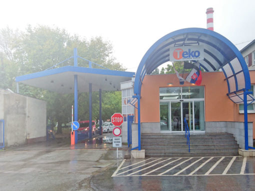 Stavebné práce priestorov vrátnice Tepláreň Košice, a. s. v skratke TEKO, a. s.